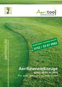 Katalog Aerifizierwerkzeuge 2019 - Aeritool GmbH
